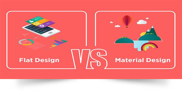 طراحي سايت تخت و طراحي سايت متريال ديزاين چيست؟